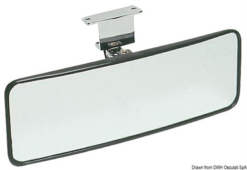 Specchietto orientabile per sci nautico 100x300 mm  [OSCULATI]