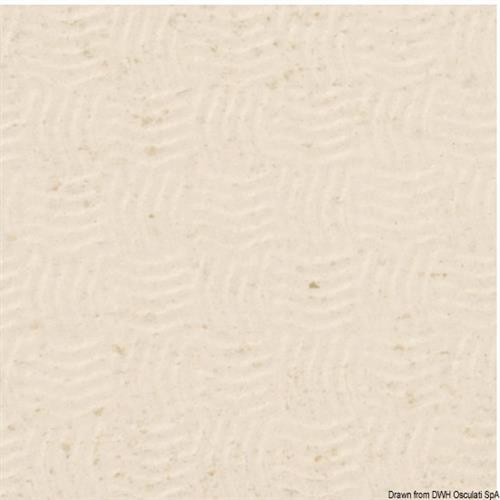 Rivestimento bianco sabbia TREADMASTER pozzetto, prendisole e gradini scalette [OSCULATI]