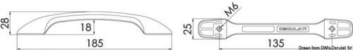 Maniglia aerodinamica [Osculati]