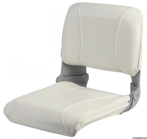 Sedile con schienale ribaltab.e sfilabile bianco [Osculati]