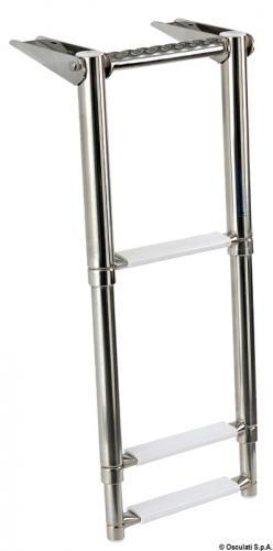 Scaletta telescopica per plancetta 3 gradini