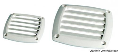 Griglia ABS grigia 85 x 85 mm