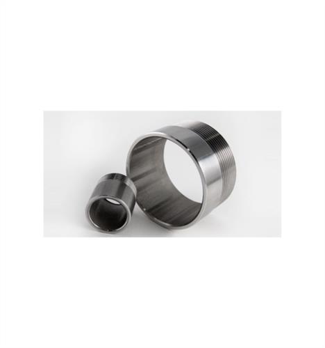 Tronchetto in acciaio inox filettato 1/4 (opaco)- AISI 304