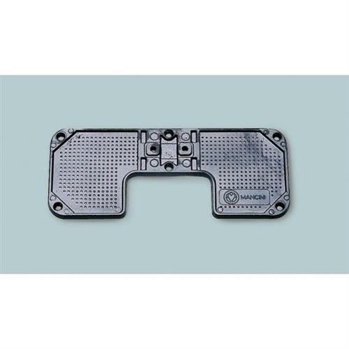 Piastra per specchio di poppa in alluminio  [MAVIMARE]