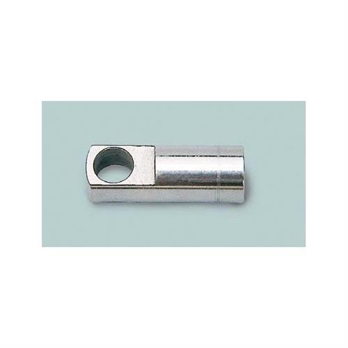 Terminale ad occhiello in acciaio inox filettato diametro 9