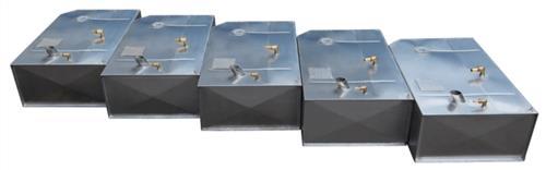 Serbatoio nautico per carburante lt.69 in acciaio inox