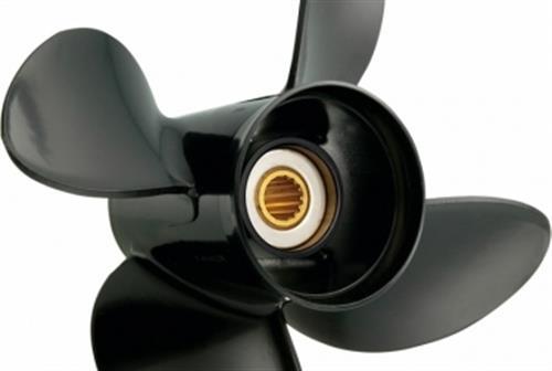 Elica in alluminio a 4 Pale per motori SUZUKI 13,75x19