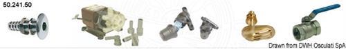 Kit accessori acqua mare per condizionatore marino [OSCULATI]
