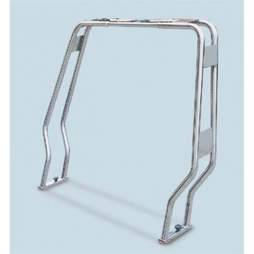 Roll bar ribaltabile in acciaio inox aisi 316 tubo diametro 25 sagomato [MAVIMARE]