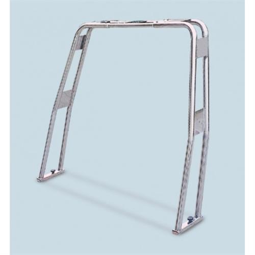 Roll bar ribaltabile in acciaio inox aisi 316 tubo diametro 25 [MAVIMARE]