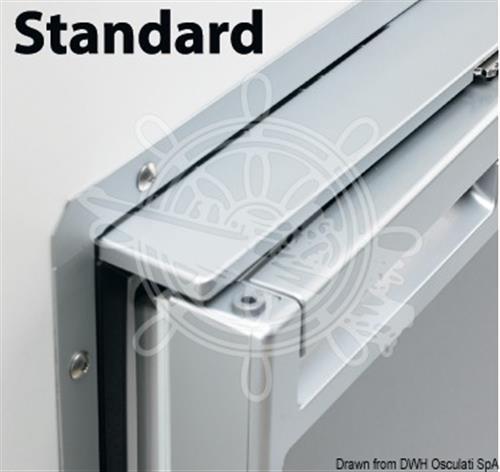 Telaio standard per frigorifero C110 chrome  [OSCULATI]