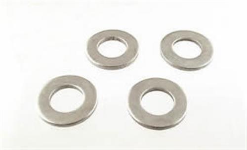 Rondelle piane normali 4 mm in acciaio inox aisi 304 [OSCULATI]