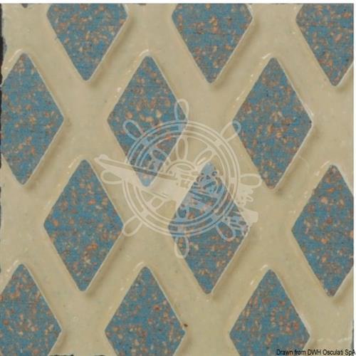 Piastra azzurra TRADMASTER autoadesiva luminescente antisdrucciolo [OSCULATI]