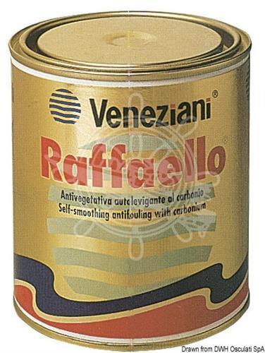 Antivegetativa Raffaello nera 0,75 l