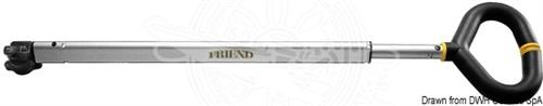 Stick Friend con maniglia 74x86cm  [OSCULATI]
