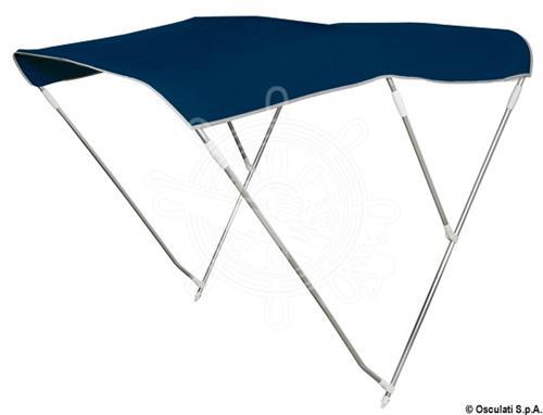 Tendalino pieghevole 3 archi alto 160/170 cm blu [OSCULATI]