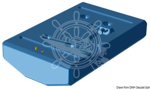Serbatoio carburante/benzina in polietilene reticolato da 347 lt