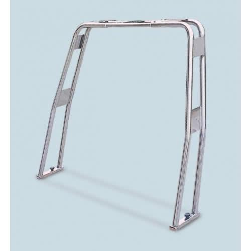 Roll bar ribaltabile in acciaio inox aisi 316 tubo diametro 40 [MAVIMARE]